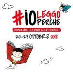 """Torna l'iniziativa: """"Io leggo perché""""  (dal 20 al 28 ottobre 2018)"""