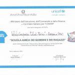 """Il """"Collodi-Marini"""" amico dell'UNICEF"""