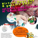 "8 Gennaio 2021: OPEN DAY virtuale dell'I.C. ""Collodi-Marini"" (canale Youtube)"